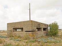 Blockhaus de la deuxième guerre mondiale Image stock