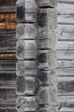 Blockhaus-Detail Stockbilder