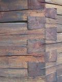 Blockhaus-Detail Lizenzfreie Stockfotos