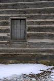 Blockhausfenster Lizenzfreie Stockfotografie