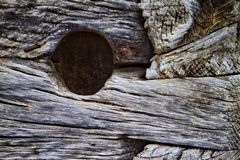 blockhouse ξύλινος Στοκ Φωτογραφία