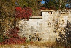Blockhouse Fortification in the Carso Stock Photography