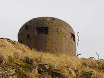Blockhouse. Fortifications of the Maginot Line Stock Photo