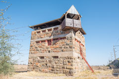 Blockhouse at Rietrivier Stock Image