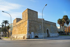 Blockhouse of Sant'Antonio. Bari. Puglia. Italy. Stock Photos