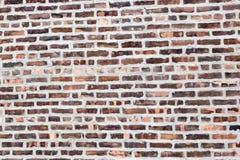 Blockieren Sie Wand, wie in NYC-Haus für Hintergrund gesehen Lizenzfreies Stockfoto