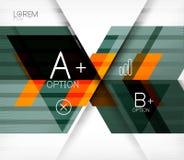 Blockiert geometrischen abstrakten Hintergrund Lizenzfreies Stockfoto