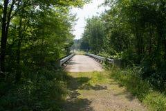 Blockiert weg von der Brücke Lizenzfreies Stockbild