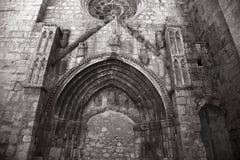 Blockierter gotischer Eingang Lizenzfreie Stockfotografie