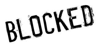 Blockierter Stempel Lizenzfreie Stockfotos