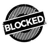 Blockierter Stempel Stockfotos