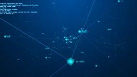 Blockkettenkonzept Lizenzfreies Stockfoto