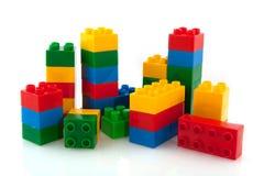 blockkonstruktion Arkivbilder