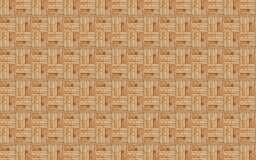 Blockmuster stapelte Blöcke von Brettern mit einem natürlichen rustikalen Muster eco Lizenzfreie Stockfotografie