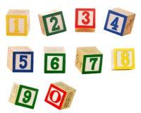 blocknummer royaltyfri bild