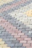 Blockpflasterung. Stockbild