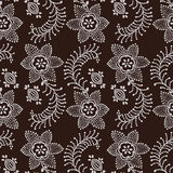 Blockprint ethnic ornament. Royalty Free Stock Photography