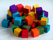 Blocks#1 Royalty Free Stock Photo