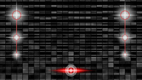 Blocks. In shadow with red marks Royalty Free Stock Photo
