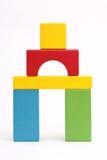 Blocks. Bilding blocks on a white background Royalty Free Stock Photos
