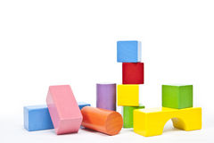 Blocks. A group of colored blocks Royalty Free Stock Images