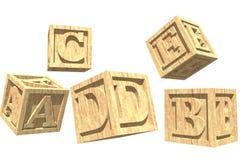 Blocks. Alphabet block royalty free illustration