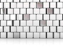Blocks abstract background Stock Image