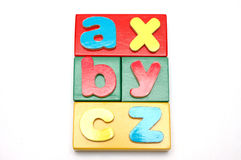 Blocks And Alphabets 1 Stock Images