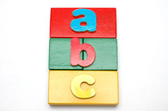 Blocks And Alphabets 2 Royalty Free Stock Photo