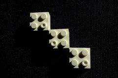Blocks arrow Royalty Free Stock Image