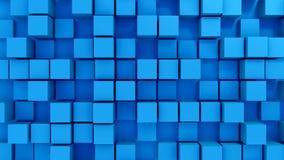 Blocks background. 3d generated background of blocks Stock Photos