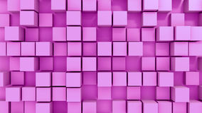 Blocks background. 3d generated background of blocks Stock Images