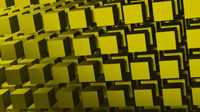 Blocks background. 3d genereated background of blocks Stock Photography