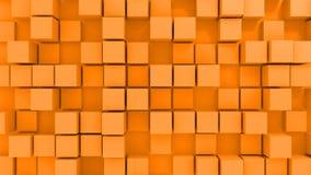 Blocks background. 3d genereated background of blocks Stock Photo