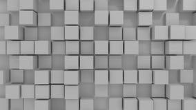 Blocks background. 3d genereated background of blocks Royalty Free Stock Image