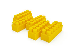 Blocks for children games Royalty Free Stock Images