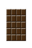 Blocks of chocolate Royalty Free Stock Photo