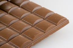 Blocks of Chocolate. Close-up of a bar of chocolate stock photos