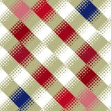 Blocks and dots pattern Stock Photo