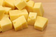 Blocks of Dutch cheese Royalty Free Stock Photos