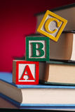 Blocks, Education Concepts Stock Photography