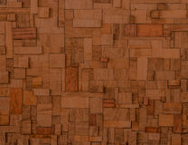 Blocks of exceptional fine esteemed Mahogany. Wooden background made with blocks of exceptional fine esteemed mahogany Stock Photo