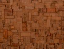 Blocks of exceptional fine esteemed Mahogany Stock Photo