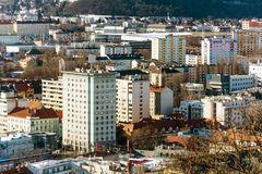 Blocks of flats in graz Stock Photo