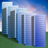 Blocks of flats Stock Photo