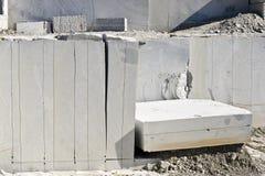 Blocks of granite Stock Images