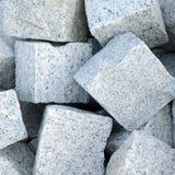 Blocks of granite. Small blocks of new granite stone Royalty Free Stock Image