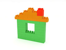 Blocks House Royalty Free Stock Photos