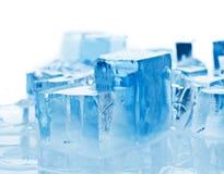 Blocks of ice stock images