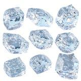 Blocks of ice Royalty Free Stock Photography